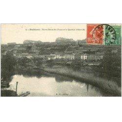 carte postale ancienne 86 POITIERS. Notre Dame des Dunes Quartier Aboville Abboville 1921