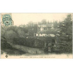 carte postale ancienne 87 AIXE SUR VIENNE. Moulin de la Berth 1904