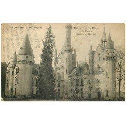 carte postale ancienne 87 BELLAC. Château de Bagnac
