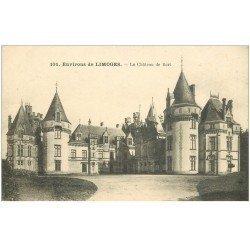 carte postale ancienne 87 CHATEAU DE BORT