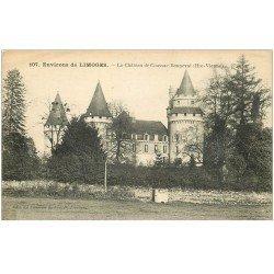 carte postale ancienne 87 CUSSAC. Château de Coussac Bonneval