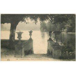 carte postale ancienne 87 EYMOUTIERS. Etang du Château de Beaune