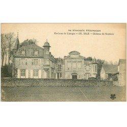 carte postale ancienne 87 ISLE. Château du Gondeau
