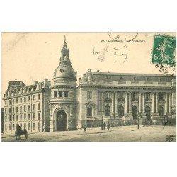 carte postale ancienne 87 LIMOGES. La Préfecture 1911