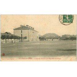 carte postale ancienne 88 BRUYERES EN VOSGES. Quartier Barbazan 62 Régiment Infanterie vers 1913
