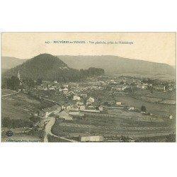 carte postale ancienne 88 BRUYERES EN VOSGES. Vue prise de Hélédraye