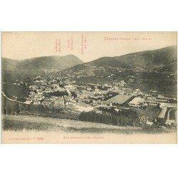 carte postale ancienne 88 BUSSANG. Vue vers l'Alsace