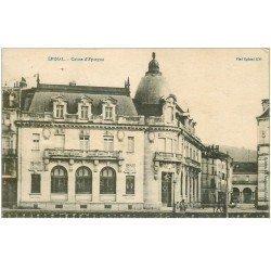 carte postale ancienne 88 EPINAL. Caisse d'Epargne 1917