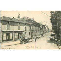 carte postale ancienne 88 EPINAL. Coiffeur rue de Nancy 1916
