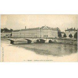 carte postale ancienne 88 EPINAL. Collège et Ecole Industrielle vers 1900