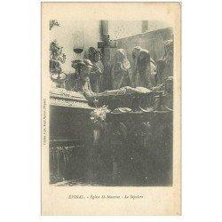 carte postale ancienne 88 EPINAL. Le Sépulcre Eglise Saint Maurice