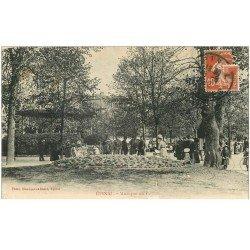 carte postale ancienne 88 EPINAL. Musique au Kiosque 1912