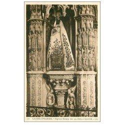 carte postale ancienne 14 LA DELIVRANDE. Basilique Notre-Dame