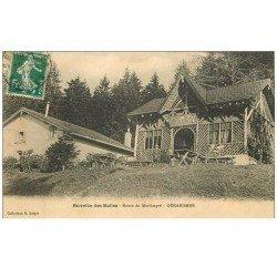 carte postale ancienne 88 GERARDMER. Buvette des Bolles Route de Martimpré 1912