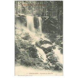 carte postale ancienne 88 GERARDMER. Cascade de Mézelle 1906