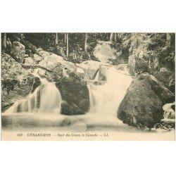 carte postale ancienne 88 GERARDMER. Cascade Saut des Cuves