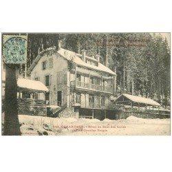 carte postale ancienne 88 GERARDMER. Hôtel du Saut des Cuves 1905