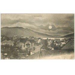 carte postale ancienne 88 GERARDMER. La Ville au Clair de Lune