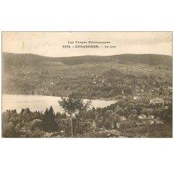 carte postale ancienne 88 GERARDMER. Le Lac