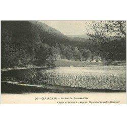 carte postale ancienne 88 GERARDMER. Le Lac de Retournemer