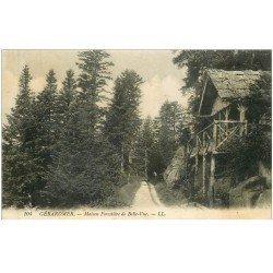 carte postale ancienne 88 GERARDMER. Maison Frontière de Belle Vue
