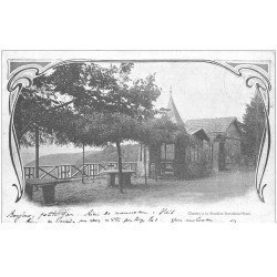 carte postale ancienne 88 LA FEUILLEE DOROTHEE. Le Val d'Ajol 1904 Hôtel et Chalets