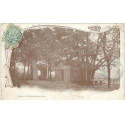 carte postale ancienne 88 LA FEUILLEE DOROTHEE. Le Val d'Ajol 1905 Hôtel et Chalet