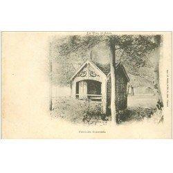 carte postale ancienne 88 LA FEUILLEE DOROTHEE. Vers 1900 le Val d'Ajol la Cabane au Jardin