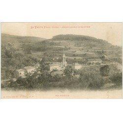 carte postale ancienne 88 LA PETITE FOSSE. Le Village