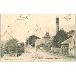 carte postale ancienne 02 LA FERE. Charmes. L'Usine 1904