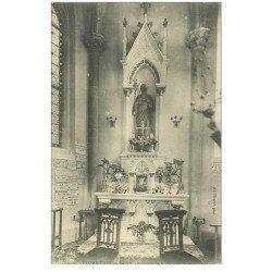 carte postale ancienne 88 PLOMBIERES LES BAINS. Chapelle Saint-Joseph 1904