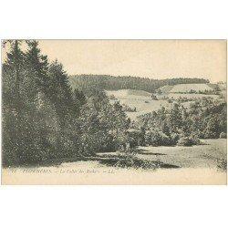 carte postale ancienne 88 PLOMBIERES LES BAINS. La Vallée des Rochers