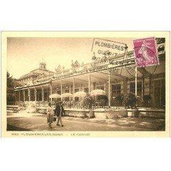 carte postale ancienne 88 PLOMBIERES LES BAINS. Le Casino 1934