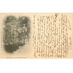 carte postale ancienne 88 SAINT DIE. En allant à la Vanne de Pierre 1901