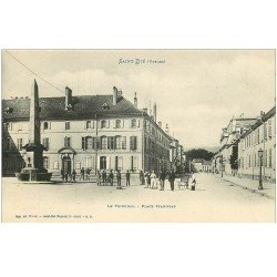 carte postale ancienne 88 SAINT DIE. Le Tribunal Place Stanislas