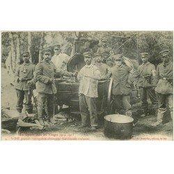 carte postale ancienne 88 SAINT DIE. Les Cuisines roulantes pendant occupation allemande 1916