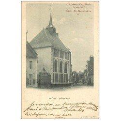 carte postale ancienne 02 LA FERE. Hôtel Dieu. Cercle des Canonniers 1906