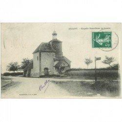carte postale ancienne 89 AILLANT. Chapelle Notre Dame de Lorette 1909