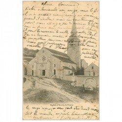 carte postale ancienne 89 ANCY LE FRANC. L'Eglise 1903