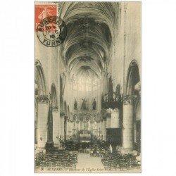 carte postale ancienne 89 AUXERRE. Eglise Saint Pierre 1910