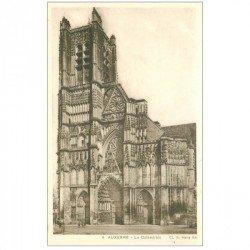 carte postale ancienne 89 AUXERRE. La Cathédrale