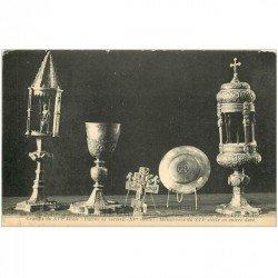 carte postale ancienne 89 AUXERRE. La Cathédrale avec son Trésor