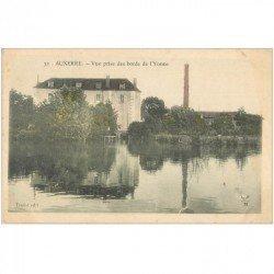 carte postale ancienne 89 AUXERRE. Les bords de l'Yonne