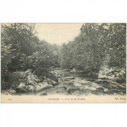 carte postale ancienne 89 AVALLON. Crot de la Foudre