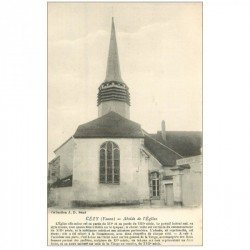 carte postale ancienne 89 CEZY. Abside de l'Eglise.
