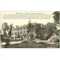 carte postale ancienne 89 CEZY. Maison de Jacques Coeur