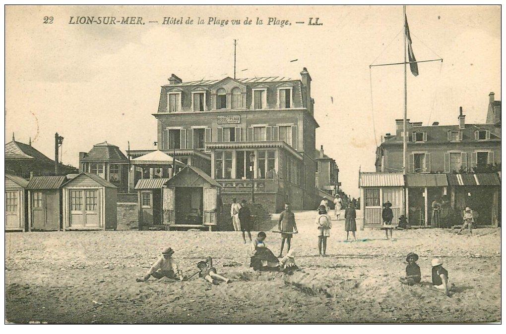 Hotel De La Plage Lion Sur Mer