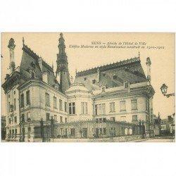 carte postale ancienne 89 SENS. Abside Hôtel de Ville