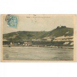carte postale ancienne 89 SENS. Barrage et Ermitage Saint Bond 1904
