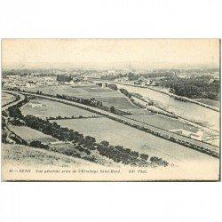 carte postale ancienne 89 SENS. Ermitage Saint Bond 1915